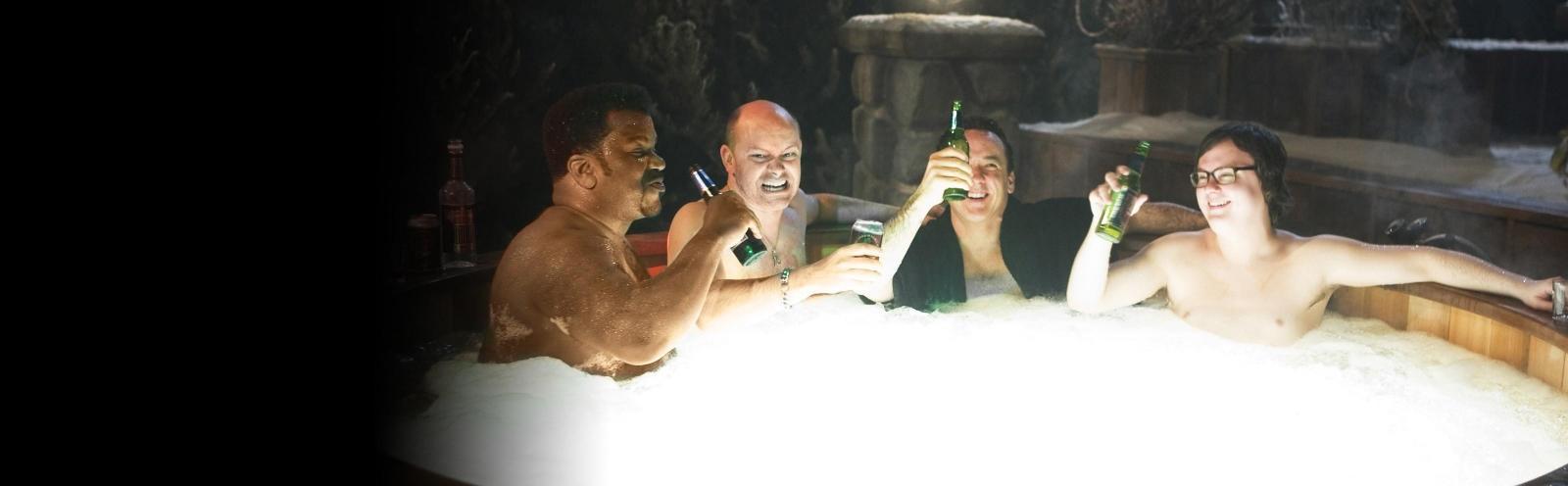 Kreisikomedia: Hot Tub Time Machine - kasarikankkunen